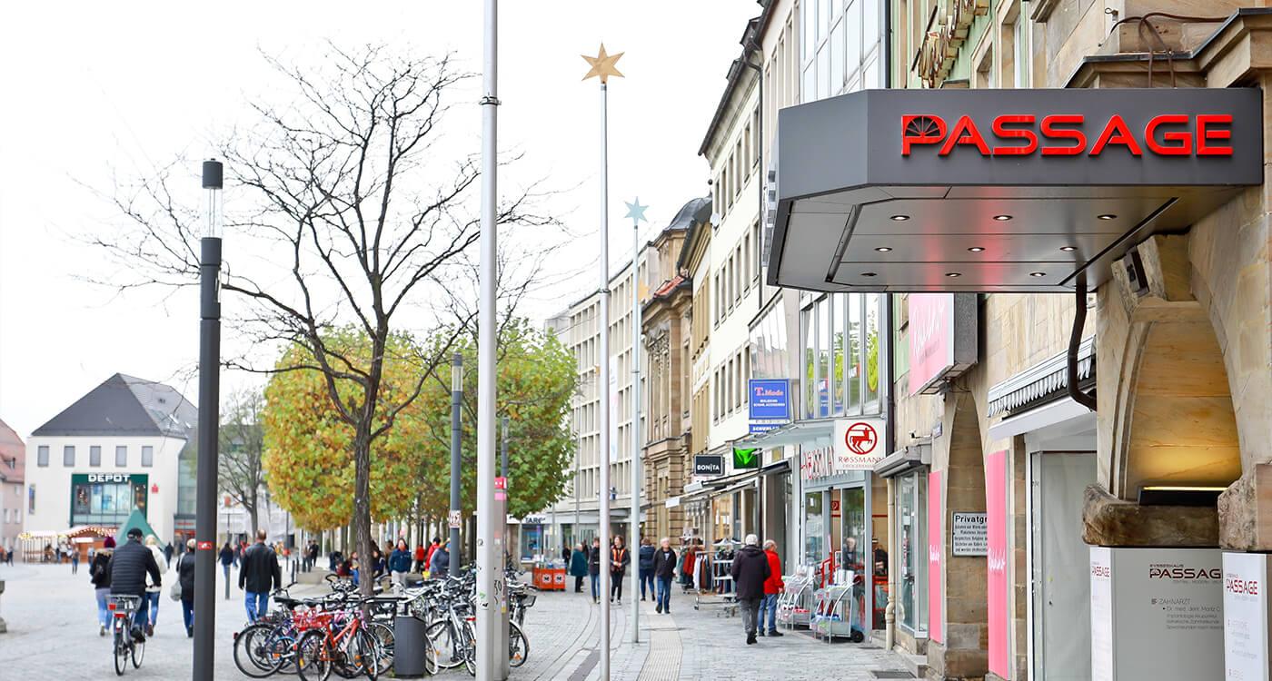 Das Shoppingerlebnis In Der Innenstadt Eysserhauspassage Bayreuth